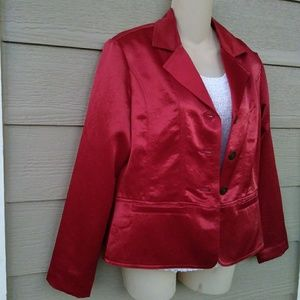 Chico's Red Jacket - size 0